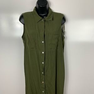 J.B.S. Green dress